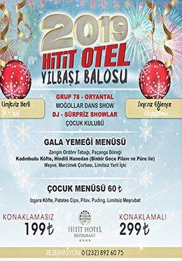 Hitit Otel Yılbaşı Programı 2019