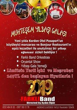 Kordon Otel Pasaport Yılbaşı 2019