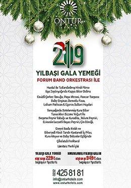 Ontur Otel İzmir Yılbaşı Programı 2019