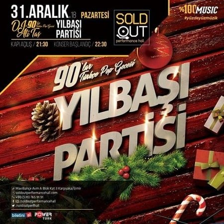 Sold Out Performance İzmir Yılbaşı 2019