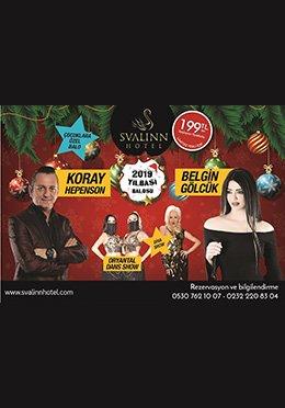 Svalinn Hotel İzmir Yılbaşı 2019