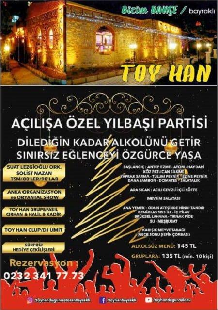 Toy Han Bizim Bahçe İzmir Yılbaşı 2019