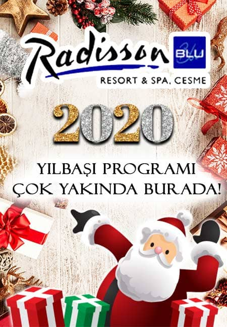 Radisson Blu Hotel Çeşme Yılbaşı 2020