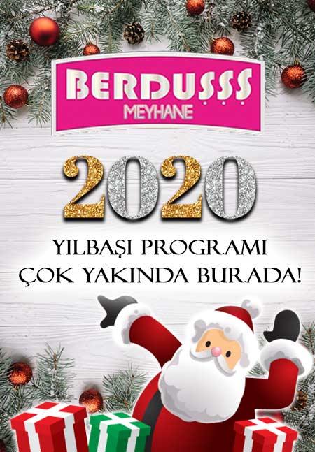İzmir Berduşşş Meyhane Yılbaşı Programı 2020