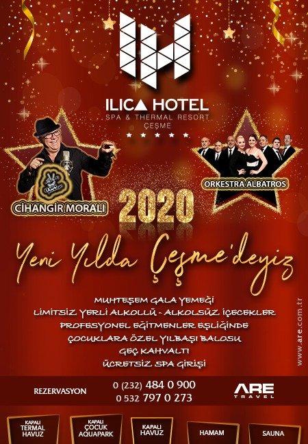 Çeşme Ilıca Otel Yılbaşı Programı 2020