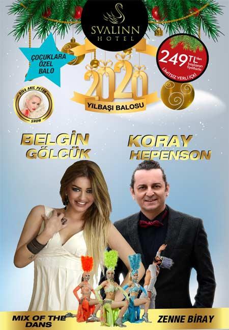 İzmir Svalinn Hotel Yılbaşı 2020