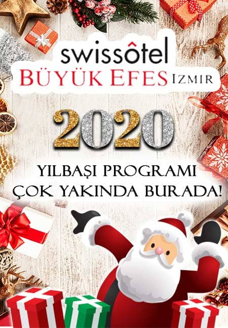 İzmir Swissotel Grand Efes Yılbaşı Programı 2020