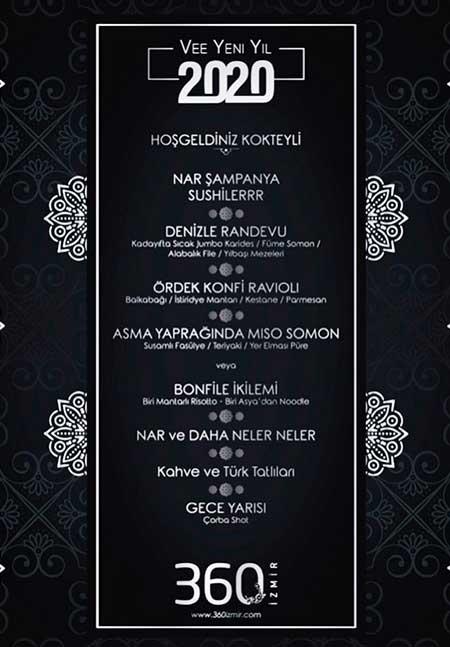 360 İzmir Yılbaşı 2020