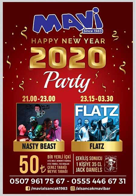Alsancak Mavi Bar Yılbaşı 2020