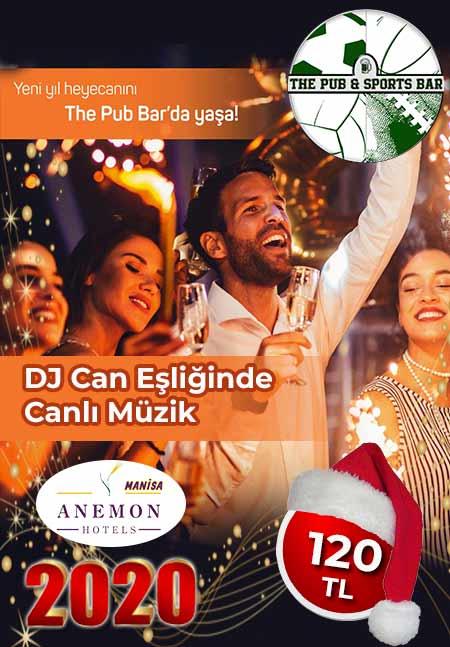 Anemon Otel Manisa The Pub Yılbaşı 2020