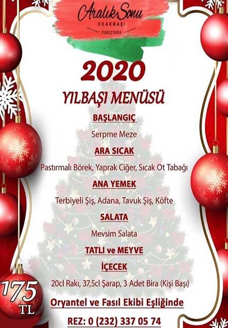 Aralık Sonu Ocakbaşı Bostanlı Yılbaşı 2020