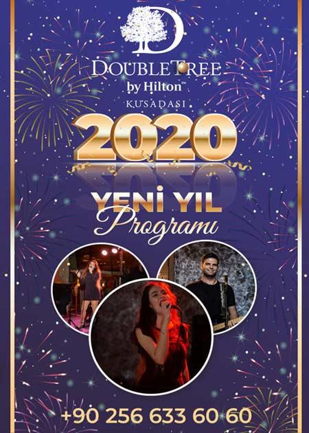 Double Tree By Hilton Kuşadası Yılbaşı Programı 2020