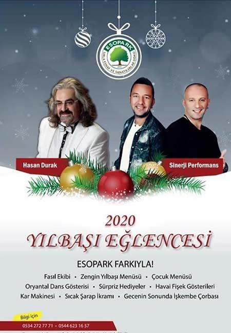 ESO Park İzmir Yılbaşı 2020