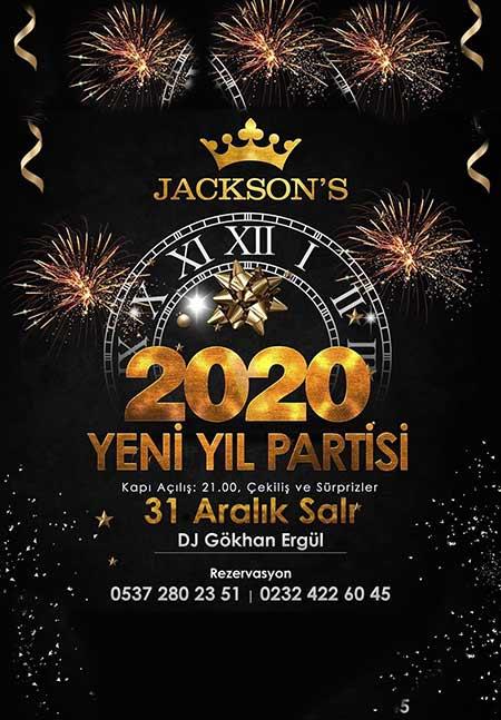 Jacksons Alsancak Yılbaşı 2020