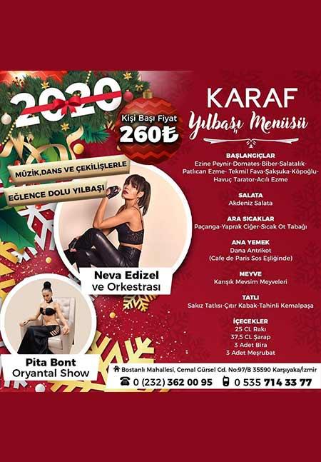 Karaf Meyhane İzmir Yılbaşı 2020