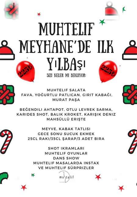 Muhtelif Meyhane İzmir Yılbaşı 2020