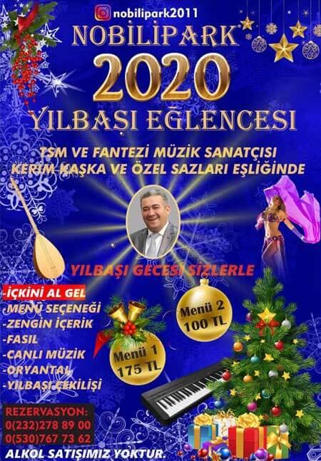 Nobili Park Balçova Yılbaşı Programı 2020