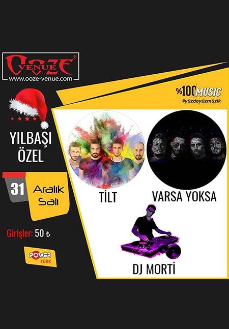 Ooze Venue İzmir Yılbaşı Programı 2020