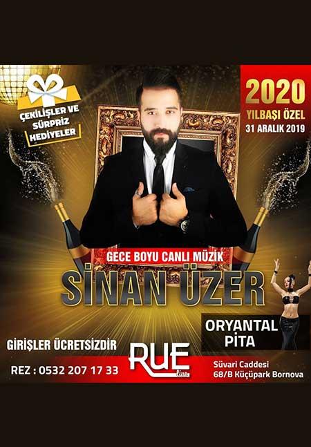 Rue Live İzmir Yılbaşı 2020