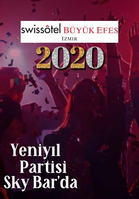 Sky Bar İzmir Yılbaşı 2020