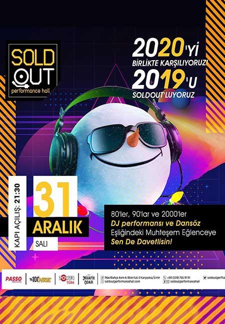 Sold Out Performance Hall Mavibahçe Yılbaşı 2020